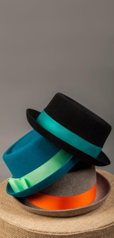 94de634587aa36 Модель 'Порк-пай' : Жіночі капелюшки / Пуховий фетр / 55-60